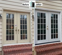 Crystal Exteriors-ProVia-Legacy-20 Gauge-steel-French door-Silver Spring-Montgomery County-Maryland-MD-20902-RS1